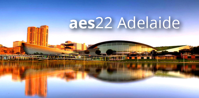 aes21 conference postponed; aes22 in Adelaide