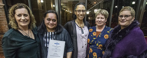 2018 Indigenous Evaluation Award for the Te Puawai O Te Ahi Kaa Evaluation